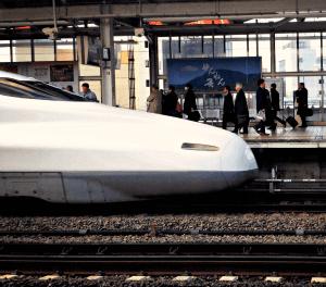Boutique Japan Featured Travelers bullet train shinkansen