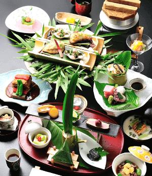 Hakone Japan Yamanochaya Ryokan dinner