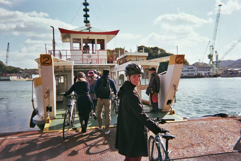 cycling on the shimanami kaido by Boutique Japan