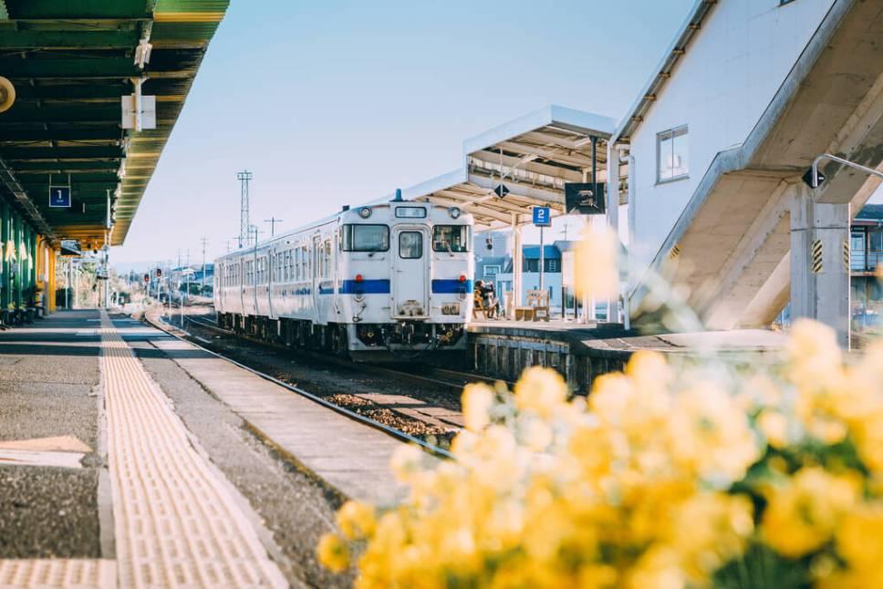 Ibusuki Makurazaki Line in Ibusuki, Japan