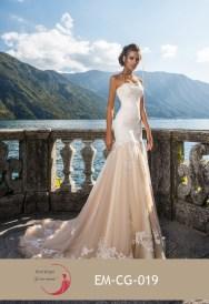 Robe de mariée empire (disponible en ivoire, blanc et champagne)