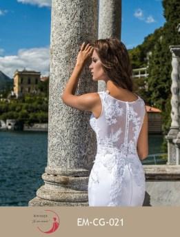 Robe de mariée empire (disponible en ivoire et blanc)