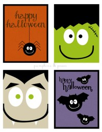 free printable coloring halloween cards