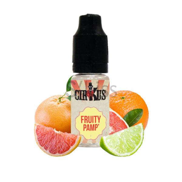 e-liquide fruity pamp gamme cirkus par vdlv