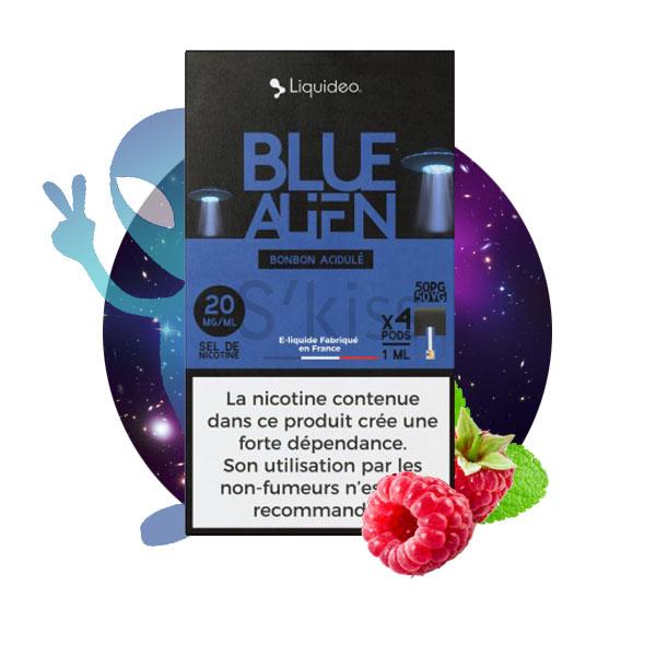 pods blue alien wpod par liquideo