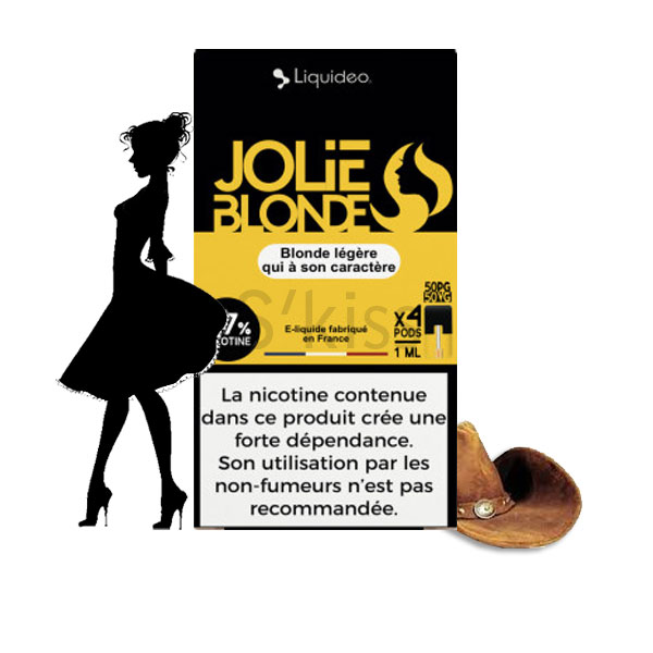 Pods Jolie Blonde Wpod Liquideo (compatible Juul)