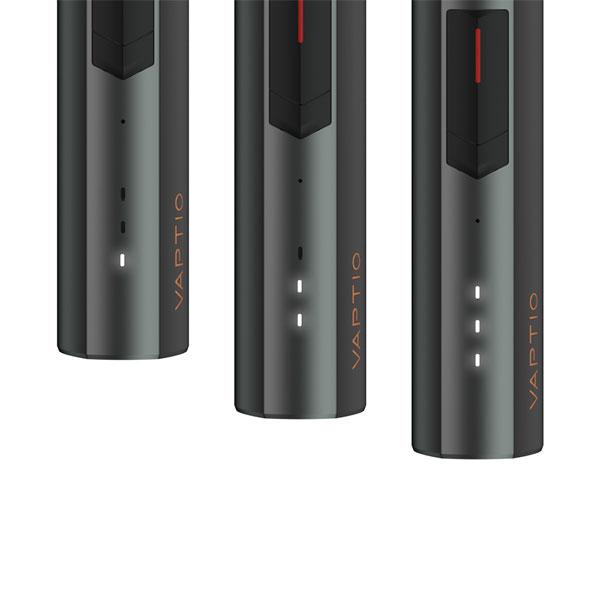 Réglages batterie Cosmo 2 Vaptio