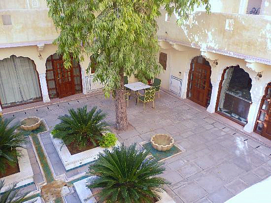 Courtyard courtesy of TripAdvisor