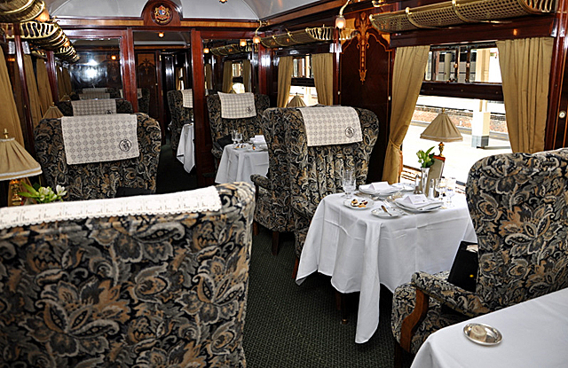 Luxury train travel, The British Pullman