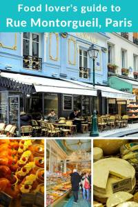 Rue Montorgueil, food lover's delight and one of our favourite streets of Paris, France