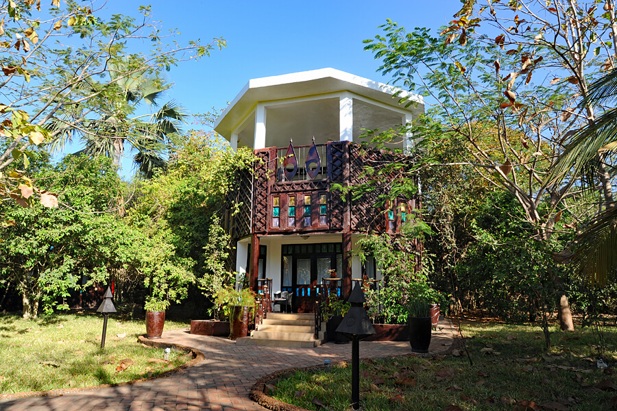 Jungle Lodge, Mandina Lodges, Makasutu Forest, The Gambia