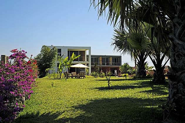 Leo's Beach Hotel, The Gambia, West Africa