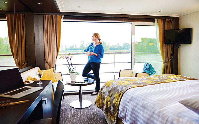 The ultimate in relaxation with a wellness river cruise along the Danube