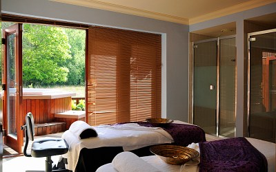 Pampering and relaxation at the Solent Spa, Hampshire
