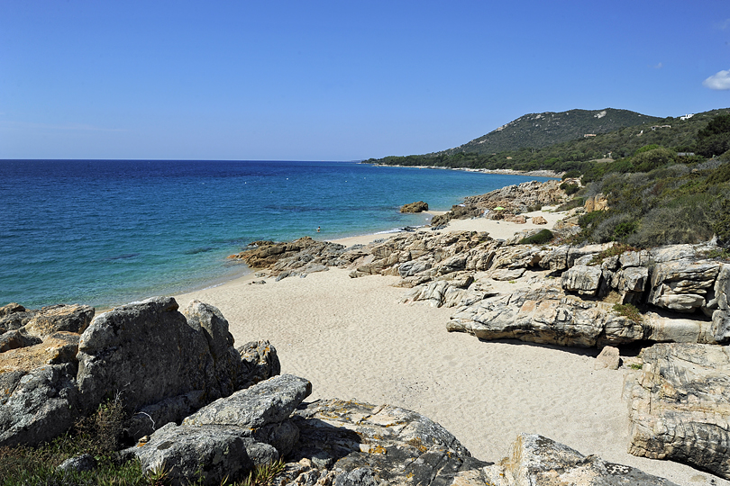 beaches of southern Corsica