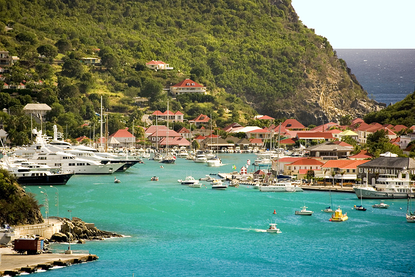 St Barts, caribbean luxury yacht charter