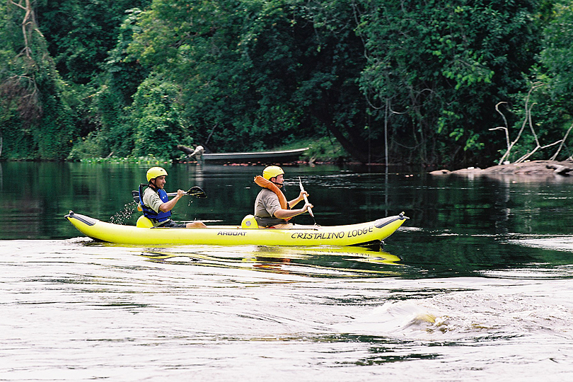 Cristalino Jungle Lodge - Canoeing at Cristalino River