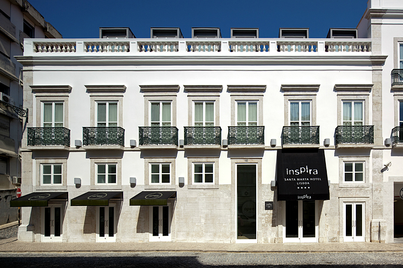 Inspira Santa Marta: eco-chic hotel in the heart of Lisbon