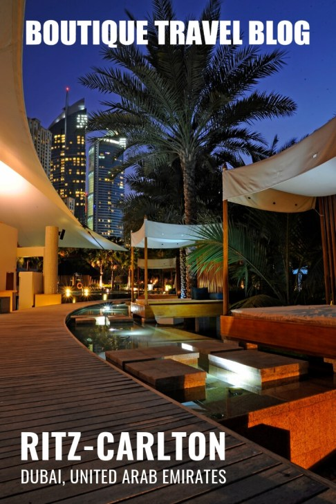 Ritz-Carlton Dubai, the perfect combination of a city and beach luxury break #Dubai