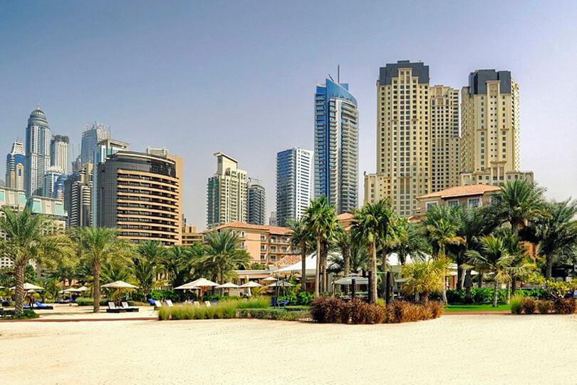 Ritz Carlton Dubai JBR, beach
