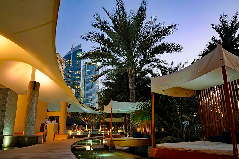 The elegant Ritz-Carlton on Jumeirah Beach, Dubai
