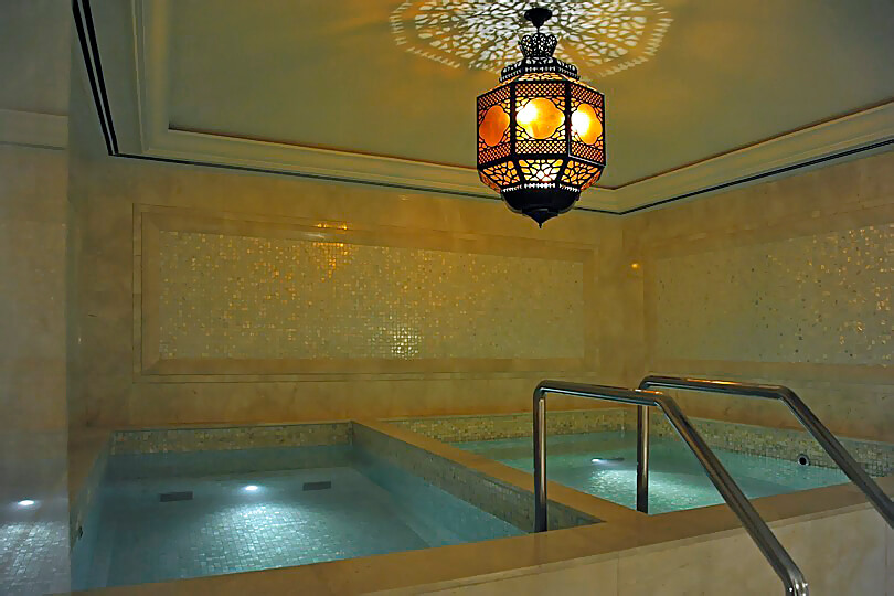 Ritz Carlton Dubai JBR, spa plunge pools