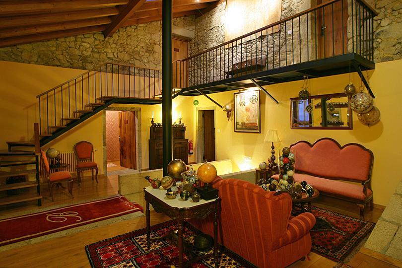 A warm welcome at Casa Grande do Bachao near Santiago de Compostela in northern Spain