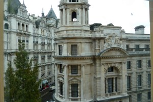 Room with a View Corinthia Hotel London