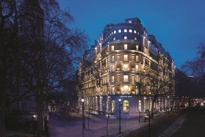 Twilight Exterior Corinthia Hotel London