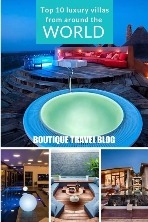 Top 10 incredible luxury villas around the world #luxtravel #luxuryvillas