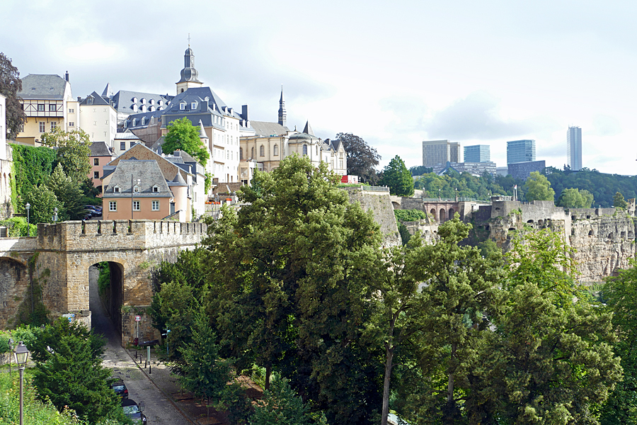 Things to do in Luxembourg: Visit the Old Quarter and Fortification, listed as a UNESCO World Heritage site and are fabulous to wander around and explore.