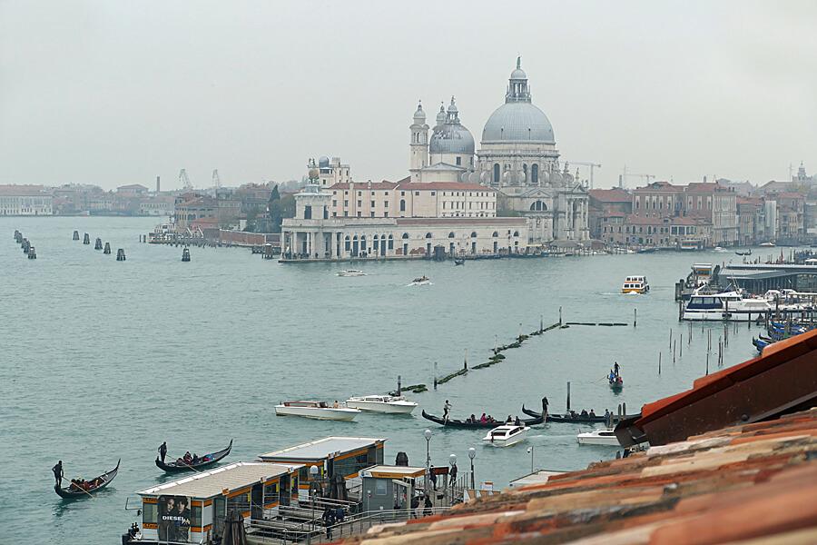 View from Room 502, Hotel Londra Palace, Venice, Italy