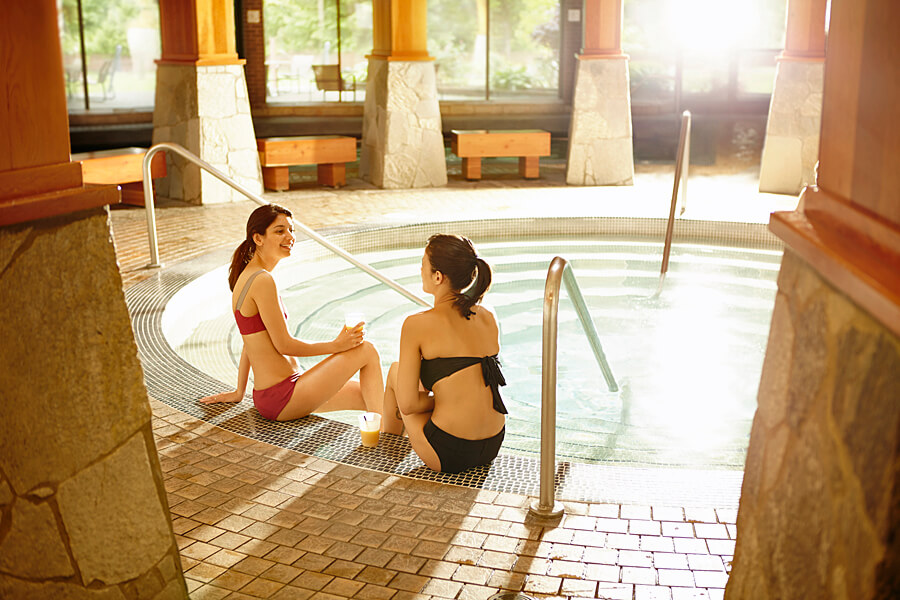 Harrison Hot Springs Resort and Spa, British Columbia, Canada, one of the best spas in the world