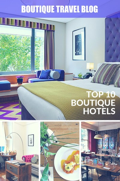 Our favourite boutique hotels from around the world by the Boutique Travel Blog team