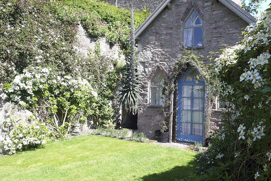 One of the cosy cottages at Bodysgallen Hall and Spa, a beautiful historic hotel in Wales
