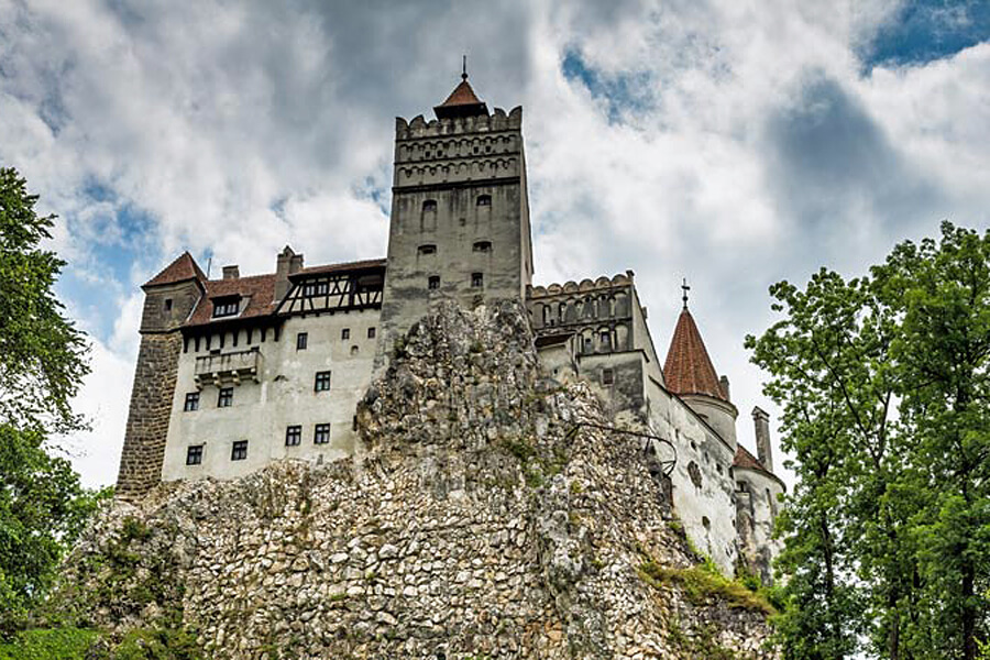 Bran Castle or Dracula Castle, one of our top 10 Romanian castles