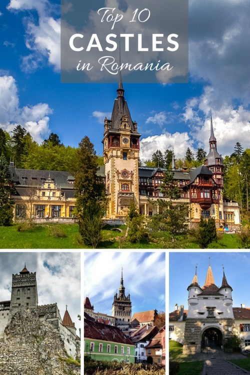 Top 10 Medieval Castles, Citadels and Fortresses to visit in Romania