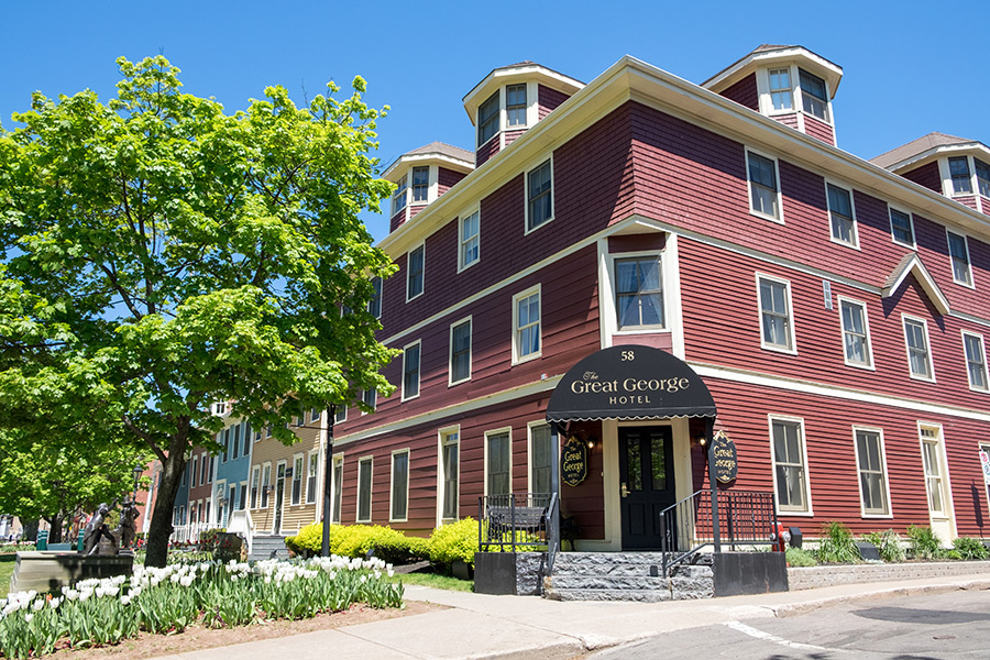 Great George Hotel, Charlottetown, Prince Edward Island, Canada