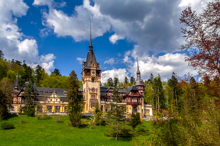 Peles Castle, Romania, one of our top 10 Romanian castles