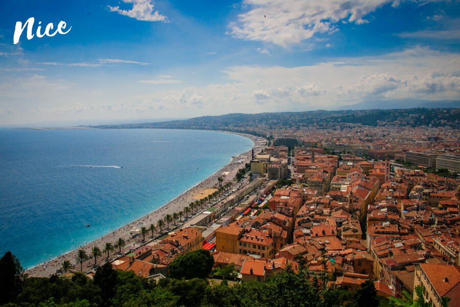 Nice, one of our top 10 places to visit in the south of France