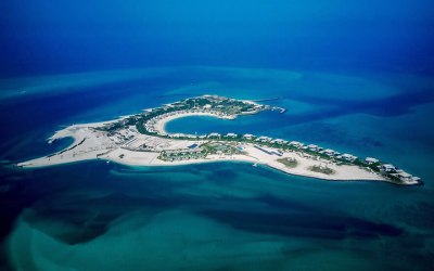 Zaya Nurai Island, Abu Dhabi, the Maldives of the United Arab Emirates