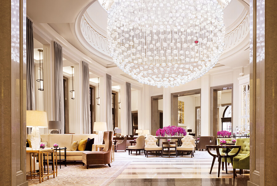 The Crystal Moon Lounge, Corinthia Hotel London