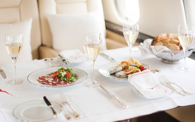 The great perks of a private jet charter