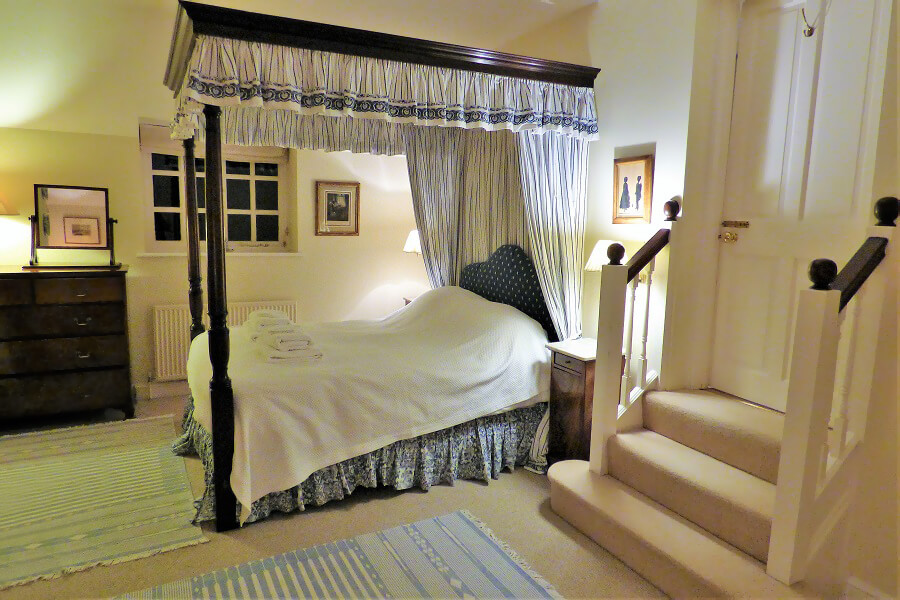 Bedroom at Aintree Cottage