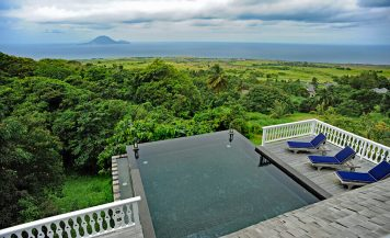 Belle Mont Farm, St Kitts private pool