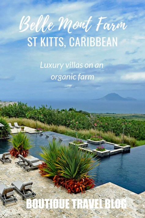 Belle Mont Fram, St Kitts | Luxury villas and cottgaes on an organic farm on the lovely Caribbean island of St Kitts #StKitts #LuxuryHotel