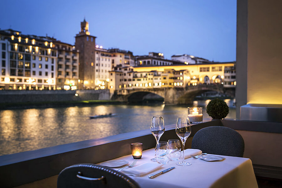Dining in Florence, Italy