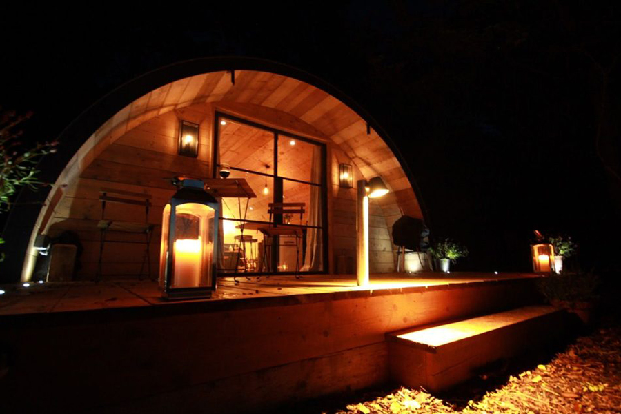 Glamping in Hampshire at The Pigsty