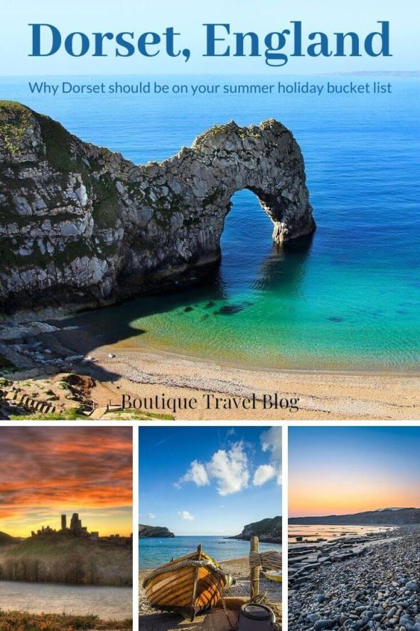 Why Dorset should be on you r summer holiday bucket list #Dorset #England #Holiday #SeasideHoliday