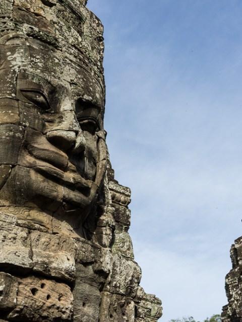 Temple de Bayon à Siem Reap